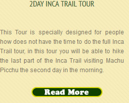 Two Day Inca Trail